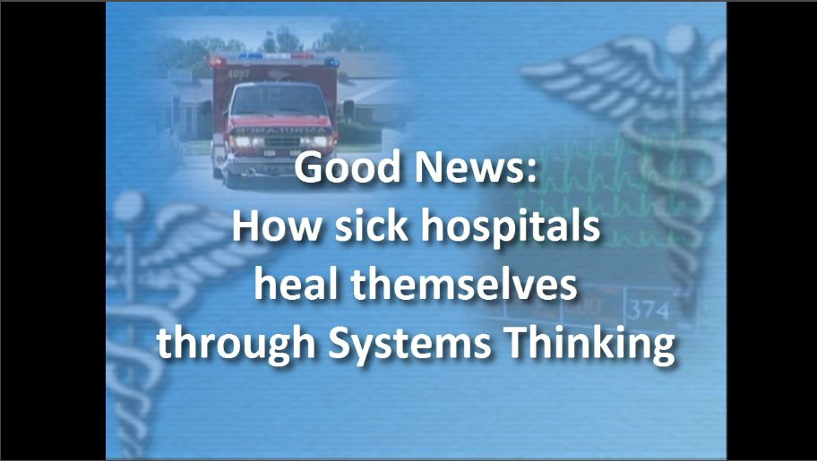 "How ""sick"" heathcare can heal itself"