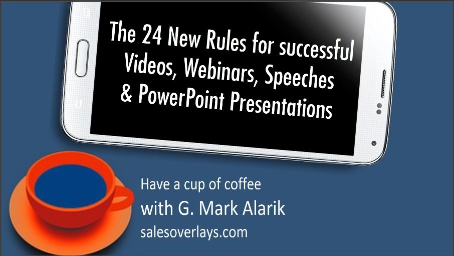 In 12 minutes, learn how to improve Videos, Webinars & Speeches!